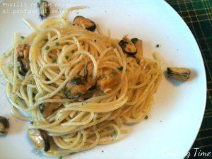 Spaghetti con le cozze al profumo di zenzero