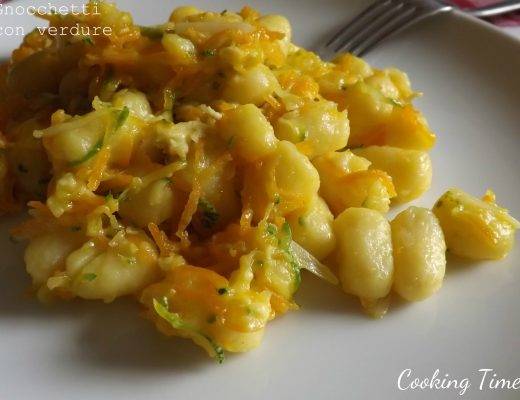 Gnocchetti con verdure