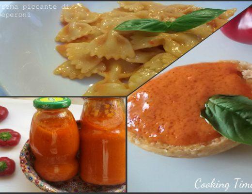 Crema piccante di peperoni