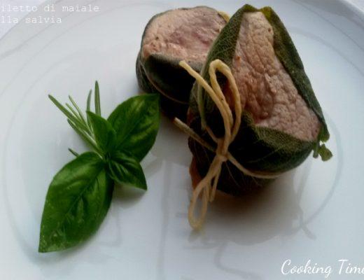 Filetto di maiale alla salvia
