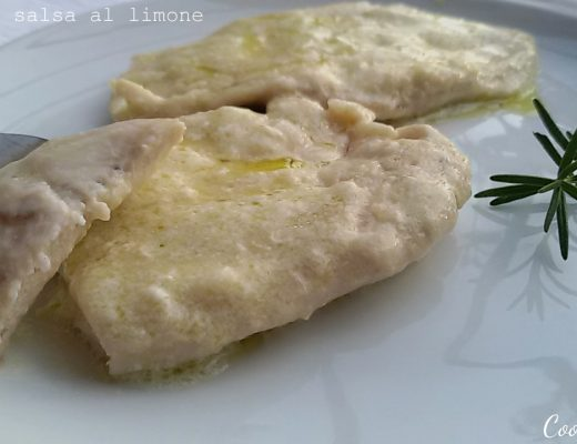 pollo in salsa al limone