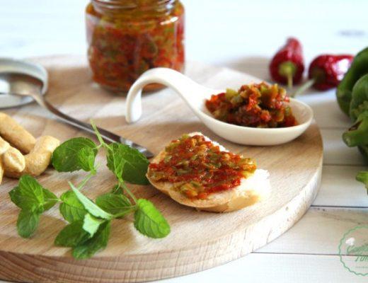 Salsa di peperoni a crudo