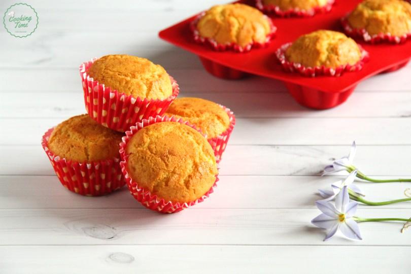 Muffin con cuore di Nutella